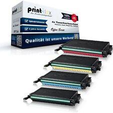 4x Printer Tonerkartuschen für Samsung CLP 650 N K600 C600 M600 Y - Office Serie