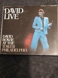 "David Bowie ""David Live"" Live At The Tower Philadelphia (1990, EMI CAPITOL)"