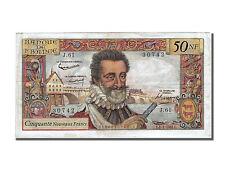 Billets, France, 50 Nouveaux Francs, Type Henri IV (1959) #251356