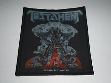 TESTAMENT BROTHERHOOD OF THE SNAKE WOVEN PATCH