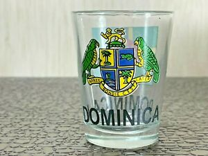 Souvenir Shot Glass Dominica