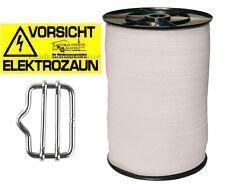 Weidezaunband Weidezaun Weideband 10mm 20mm 40mm Breitband Band Zaunverbinder