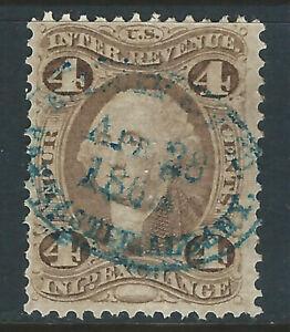 Bigjake: R20c, 4 cent Inland Exchange - N.Y. Central RR Co. - 1st Revenue Issue