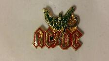 AC DC AC/DC Monsters of Rock RARE Vintage metal logo music pin rock hardrock