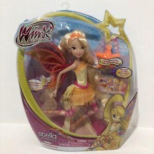 Winx Club Harmonix Stella Fairy Doll New 2013