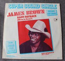 James Brown, rapp payback, Maxi Vinyl import