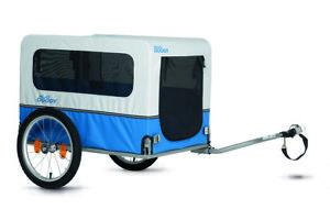 XLC dog / pet bike trailer - In UK stock now - easy-tow, foldable frame