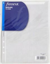 Filofax 343612 - A5 Transparent envelope top opening