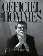L'OFFICIEL HOMMES Magazine ITALY ITALIA #9 A/W 2013,Willem Dafoe NEW