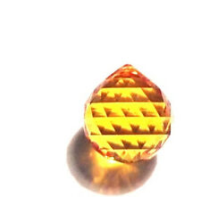 30mm Swarovski Strass Topaz Crystal Ball Prisms Wholesale Feng Shui 8558-30 CCI