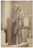 Egitto Art Egiziano A Regno Unito Museo Foto Albume D'Uovo Vintage Ca 1875