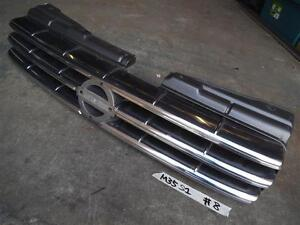 NISSAN M35 STAGEA series1 genuine front grill missing center badge sec/h #8