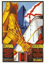 Carte Publicitaire Compania Euskalduna   Neuve