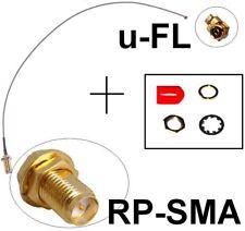 Antennen Adapter Kabel RP-SMA u-FL Wlan WiFi RPSMA--> uFL Fritz!Box Pigtail Ipex