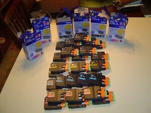 Brother LC103XL EMPTY Cartridges, 11BLA, 6YEL, 6RED, 5BLU, 28 Total, All XL