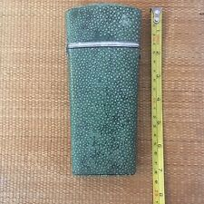 Antique Shagreen & Silver Drawing / Drafting Case Etui