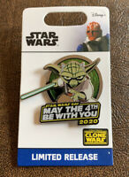 *LIMITED EDITION* 2020 Disney Star Wars Yoda Pin May The 4th Be With You* NEW