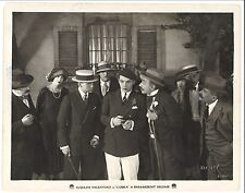COBRA 1925 Vintage Original 8x10 Rudolph Valentino Wearing Beret Uncommon Image