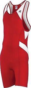Russell Athletic Mens Wrestling Sprinter Singlet Suit
