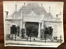 CHINA OLD PHOTO CHINESE ARCH PEOPLE CANTON !!