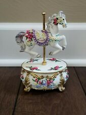Vintage 1995 San Francisco Music Box Company Carousel Horse
