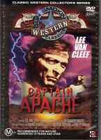 Captain Apache DVD Stuart Whitman, Lee Van Cleef, Carroll Baker - Region 4 AU