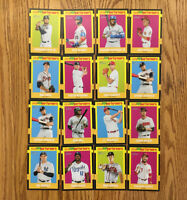 Lot Of (16) 2020 Topps Heritage New Age Performers Inserts - Pete Alonso Tatis