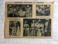 1926 Historical Pageantry At Sandwich, Margaret Maxton, Dr Ca Anderson