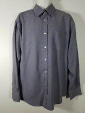 BUGATCHI UOMO 50% Rayon 50% Polyester Mens XL Button Up Long Sleeve Shirt