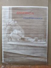 AMERICA Love it or leave it vintage Poster 1970's in#G1860