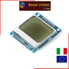 Modulo Display LCD Nokia 5110 Arduino -Module LCD 84x84 pixel Retroilluminazione