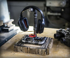 Gaming Single Headset / Headphone Hanger Stand with valve ...  Industrial Steamp