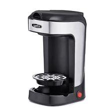 Coffee Tea Maker 600 Watts Stainless Steel Scoop One Cup Single Serve Personal