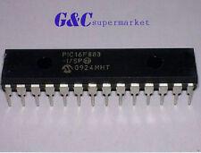 10PCS PIC16F883-I/SP PIC16F883 MCU, 8 BIT DIP28 GOOD QUALITY