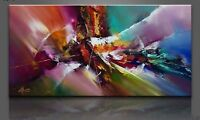 CHOP113 pretty 100% hand-painted abstract oil painting wall art on canvas