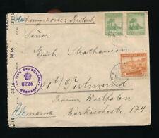 Chile, Zensurbrief 1947 aus Quintero nach Dortmund  (B38)