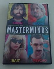 MASTERMINDS, DVD