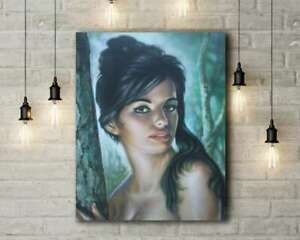 J H Lynch: Tina. Canvas Art Print