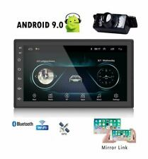"✅Android 9.0 + CAMERA 7"" Double 2Din Car Radio Stereo Built-in GPS SAT NAV"