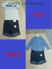 Huge Toddler Boys Lot Of Cat And Jack Shirts And Shorts Size 3T Blue - Brand New