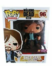 Funko Pop Bloody Biker Daryl PX Previews Vinyl Figure 96 Walking Dead