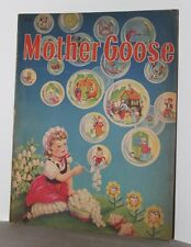 Vintage 1944 Mother Goose Book, Whitman Publishing, Illus by Francis Kirn ~ WH