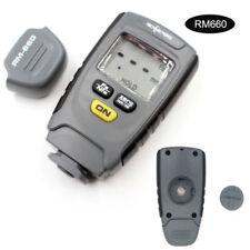 RM660 Schichtdickenmessgerät Digital Auto Farbe Mess Tester Fe / NFe 0-1.25mm