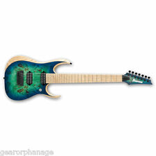 Ibanez RGD Series RGDIX7MPB Iron Label Surreal Blue Burst SBB Customer Return