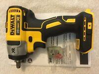 """New Dewalt DCF890B 3/8"""" 20V Max XR Brushless Cordless Impact Wrench"""