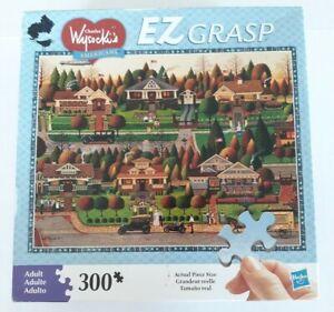 Charles Wysocki Americana Labor Day in Bungalowville 300 Piece Jigsaw Puzzle