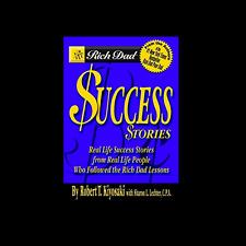 Rich Dad's Success Stories by Robert Kiyosaki FREE SHIPPING paperback book