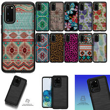 For [Samsung Galaxy S20 Plus/ S20+][EMBOSSED DUO SET2] Slim Hybrid Grip Case