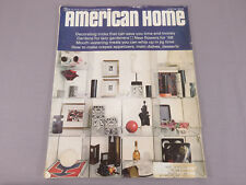Winter 1968 American Home Magazine VINTAGE Decorating & Entertaining Ideas