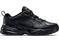 Men's Nike Air Monarch IV (Wide 4E) Black/Black 416355 001 Brand New
